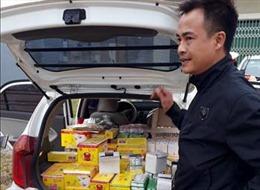 Bắt giữ vụ vận chuyển cả nghìn sản phẩm mỹ phẩm không rõ nguồn gốc