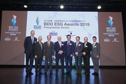 Công bố danh sách các doanh nghiệp niêm yết ở Hồng Kông đoạt Giải thưởng BDO ESG Awards 2019
