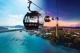 Nhiều hoạt động vui chơi nhân kỷ niệm 45 năm cáp treo hoạt động ở Singapore