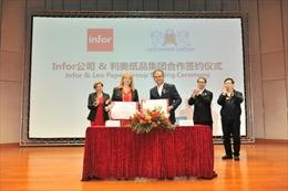 Leo Paper Group chọn Infor là đối tác thực hiện chuyển đổi công nghiệp 4.0