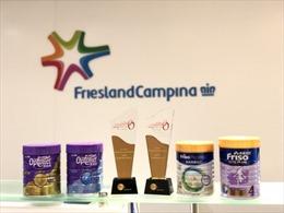 FrieslandCampina (Hồng Kông) được vinh danh là Công ty kiểu mẫu về chăm sóc khách hàng 4 năm liên tiếp