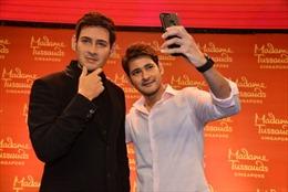 Tượng sáp của siêu sao điện ảnh Ấn Độ Mahesh Babu ra mắt tại Hyderabad