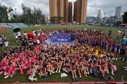 HSBC tổ chức giải thi đấu môn bóng bầu dục cho các trường tiểu học ở Hồng Kông