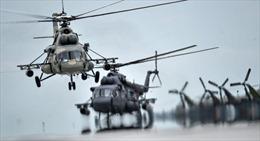 Xem trực thăng chiến đấu của Nga trình diễn