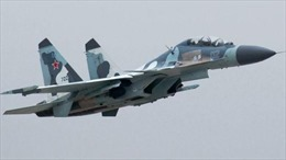 Cận cảnh Su-34 và Su-25 của Nga thực hành phóng tên lửa và ném bom