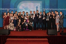 FWD giành chiến thắng lớn tại lễ trao giải thưởng Hong Kong Insurance Awards 2019