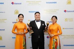 Hai cơ sở lớn của Lanson Place giành được giải thưởng danh giá World Travel Awards