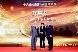 Avnet lọt vào Top 10 nhà phân phối có thương hiệu  quốc tế trong 18 năm liên tiếp