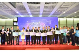Đài Loan triển khai thanh toán không chạm trên tuyến tàu điện ngầm từ Đài Bắc đến sân bay Đào Viên
