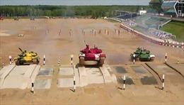Đã mắt với màn đua xe tăng tại Hội thao quân sự quốc tế 2019 ở Nga