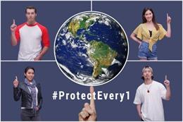 Hai tổ chức của Đài Loan giới thiệu video 'Protect Every1' kêu gọi mọi người góp sức đẩy lùi COVID-19