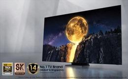 Samsung Electronics giới thiệu nhiều dòng TV QLED thế hệ mới tại thị trường Singapore