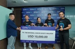 """Với sự trợ giúp OctaFX, chuỗi """"Giao dịch với các ngôi sao"""" đã thành công và dành 10.000 USD làm từ thiện"""
