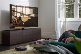 TV Samsung Q950TS 8K cùng loa soundbars Q Series tạo ra  trải nghiệm xem phim cao  cấp ở nhà