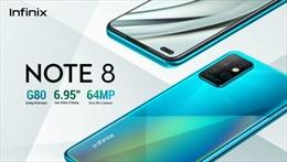 Smartphone mới Note 8 của Infinix cuốn hút người dùng ngay từ lễ ra mắt tại Nairobi