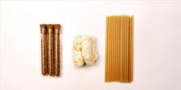 Sản phẩm ống hút làm từ bã mía, thân thiện với môi trường của Đài Loan sắp có mặt tại Mỹ