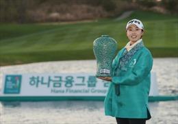 Nữ golf thủ Na Rin An giành chức quán quân Giải vô địch Hana Financial Group 2020 tại Hàn Quốc
