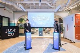 JustCo khai trương Nền tảng Công việc tương lai kỹ thuật số về mô hình làm việc chung tại Singapore