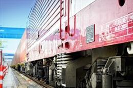 Công ty logistics Dachser tổ chức đoàn tàu hàng chở container từ Trung Quốc sang Đức