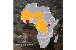 Hãng truyền thông African Media Agency (AMC) mở rộng địa bàn hoạt động sang Trung và Tây Phi