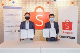 Amorepacific bắt tay với Shopee để đẩy mạnh bán các sản phẩm làm đẹp của Hàn Quốc tại châu Á