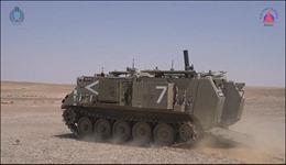 Xem uy lực đạn pháo thông minh dẫn đường bằng lazer của Israel
