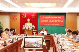 Đề nghị Ban Bí thư xem xét, thi hành kỷ luật khai trừ Đảng với nguyên Phó Chủ tịch UBND TP Hồ Chí Minh