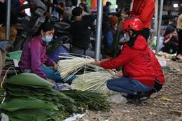 Độc đáo cảnh chợ quê ngày tết trong mùa dịch COVID-19