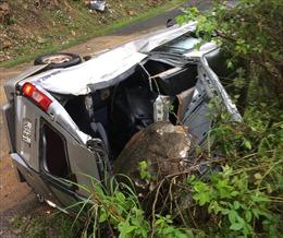 Các nạn nhân vụ đá đè bẹp xe khách đã không còn nguy kịch