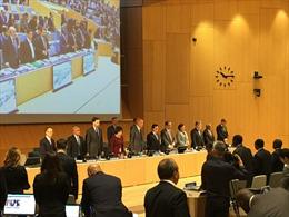 Đại Hội đồng WIPO dành một phút mặc niệm Chủ tịch nước Trần Đại Quang