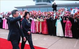 Hai lãnh đạo liên Triều thăm núi thiêng Paeku