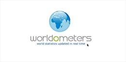 Đại dịch COVID-19, bệ phóng của trang web dữ liệu Worldometer