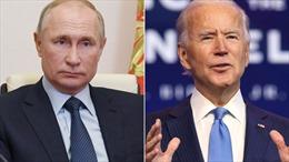 Tổng thống Putin đề nghị ông Biden đối thoại trên sóng trực tiếp