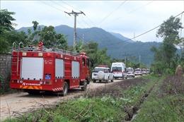Tình hình mưa lũ ngày 14/10: Huy động 983 người cứu nạn tại Thủy điện Rào Trăng 3