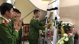 Lễ tang 3 liệt sĩ hy sinh ở Đồng Tâm: 'Chúng tôi đến đưa tiễn các anh lần cuối'