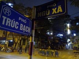Hà Nội uỷ quyền cho phường Trúc Bạch dỡ bỏ lệnh cách ly