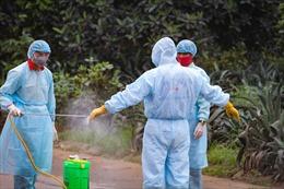 Rào chắn nghiêm ngặt, hoàn thành khai báo y tế tại thôn Hạ Lôi sau lệnh phong toả