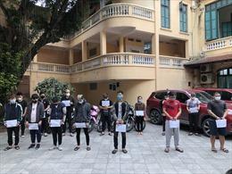 Lời khai ban đầu của các đối tượng đua xe trái phép quanh hồ Hoàn Kiếm