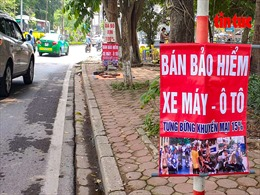 Công an quận Hoàng Mai và Nam Từ Liêm xử lý các vi phạm trật tự đô thị sau thông tin trên báo Tin tức