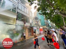 Ra mắt đội tình nguyện PCCC cơ động tại phường Trúc Bạch