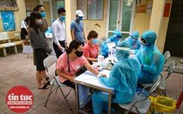 Hà Nội xét nghiệm nhanh cho người trở về từ Đà Nẵng
