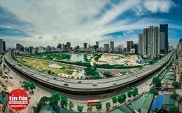 Dự án công viên và hồ điều hoà nghìn tỷ giữa 2 quận ở Thủ đô giờ ra sao?