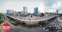 Hà Nội thông xe cầu vượt 560 tỷ đồng