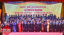 Hà Nội vinh danh 88 thủ khoa xuất sắc năm 2020