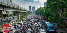 Thủ đô lại tái diễn tắc đường đến ngộp thở
