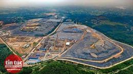 Công trường dự án đốt rác lấy điện trị giá 7.000 tỷ đồng
