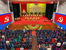 Toàn cảnh Đại hội Đảng bộ TP Hà Nội lần thứ XVII