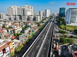 Hà Nội khánh thành cầu cạn Mai Dịch-Nam Thăng Long