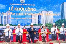 Hà Nội khởi công dự án hầm chui 700 tỷ