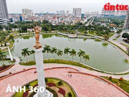 Biểu tượng khát vọng vì hòa bình của Hà Nội